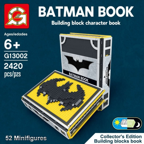 G13002 Superhero Series Batman Collection Manual Building Block Toy Ship From China