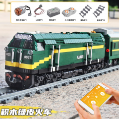 Mould King 12001 Technic Railway Series Harmony Remote Control Electric Train Boy Puzzle Building Block 2086pcs Bricks Toy Ship From China